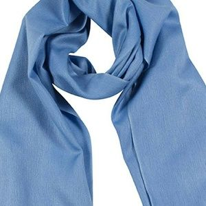 Banana Republic silk scarf: blues and lilac